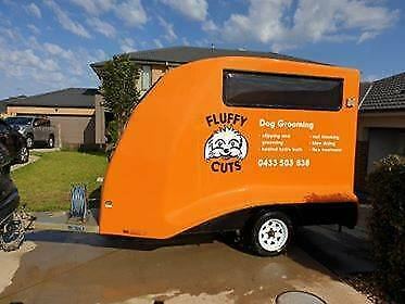 Dog Grooming Business FOR SALE with trailer non-franchise ...