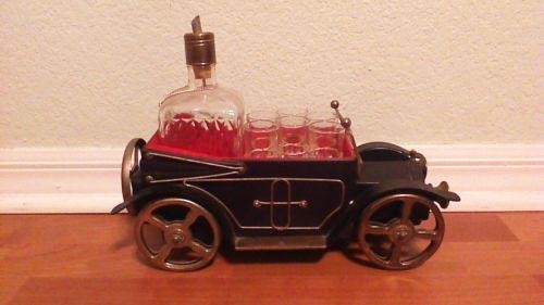 Antique Car Decanter Ebay