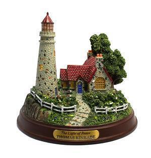 Thomas Kinkade Lighthouse EBay