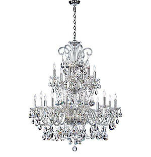 How To A Bohemian Crystal Chandelier