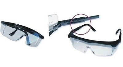 10 x HSM Schutzbrille Sicherheitsbrille Arbeitsbrille Augenschutz Laborbrille