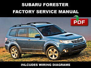 Subaru Forester Repair Manual | eBay