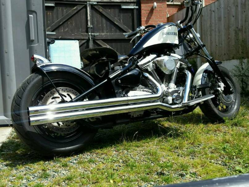 Yamaha Wildstar Xv1600 Chopper Bobber Not Harley Davidson