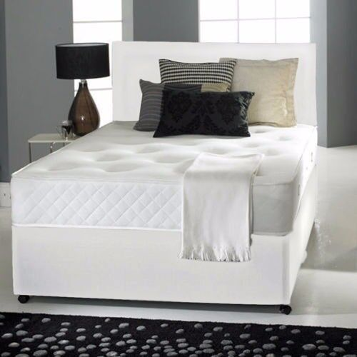 Fast Delivery Double Divan Semi Orthopaedic Bed Base