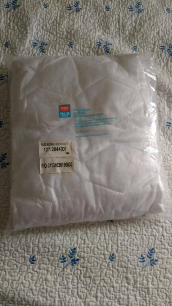 Argos Single Mattress Protector