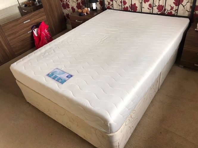 I Sleep Double Memory Foam Mattress Second Hand Used Furniture House