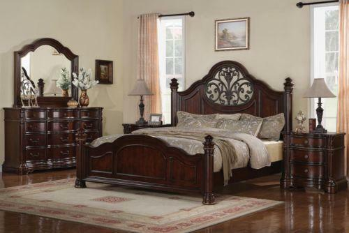 Cherry Queen Bedroom Set EBay