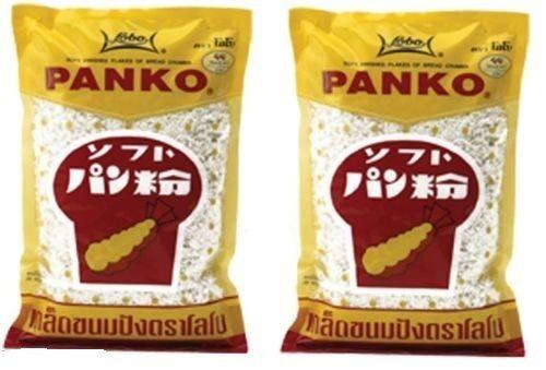 2x Panko japanisches Paniermehl Brotkrumen Tempura  pankomehl pankokrumen 2x200g