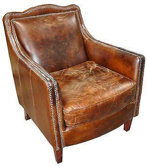 Vintage Leather Chair EBay