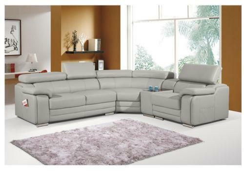 Leather Chaise Lounge Sofa