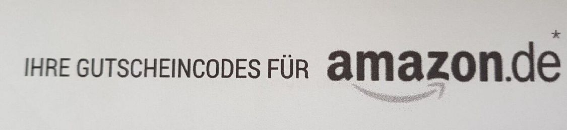 Amazon Gutschein/Voucher Code 15€