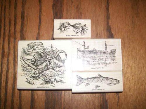 Stampin Up Stamp Sets Fishing EBay