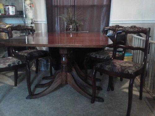 Duncan Phyfe Drop Leaf Table EBay
