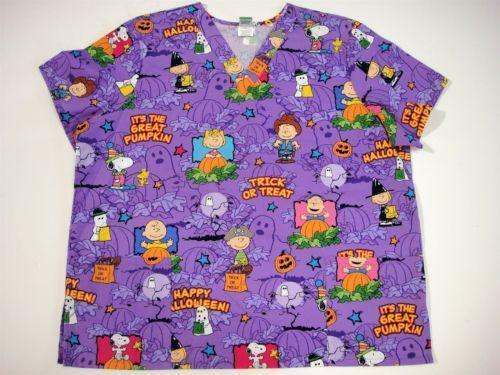 Snoopy Scrubs EBay