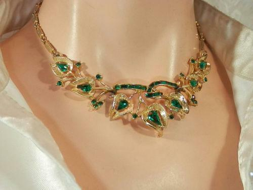Necklace Jewelry Natural Emerald