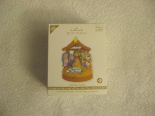 Hallmark Nativity Ornament EBay