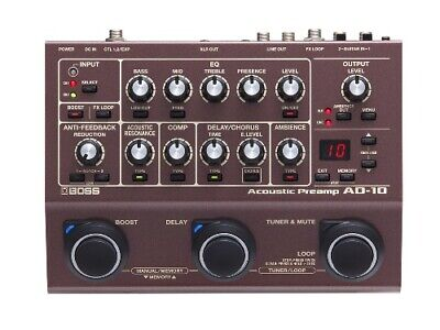BOSS Acoustic Preamp AD-10 Effects Pedal