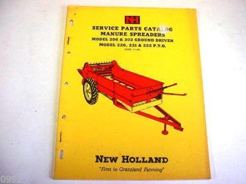 New Holland Manure Spreader
