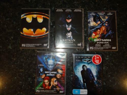 Batman DVD DVDs Amp Blu Ray Discs EBay
