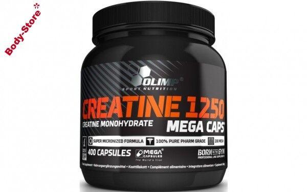 Olimp Creatine 1250 Mega Caps 400 Kapseln Stück Monohydrat Kreatin