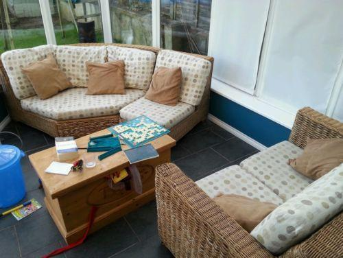 Cane Conservatory Furniture EBay