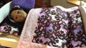 American Girl Doll Bed Handmade EBay