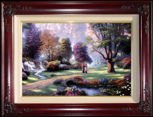 Thomas Kinkade Canvas Paintings EBay