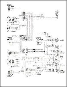 1986 GMC Chevy P20 P30 Wiring Diagram Stepvan motorhome