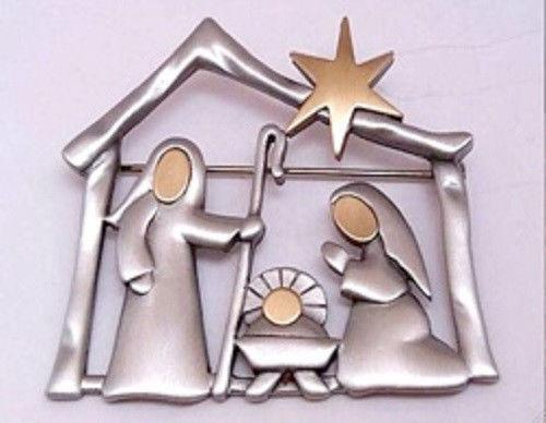 Nativity Pin EBay