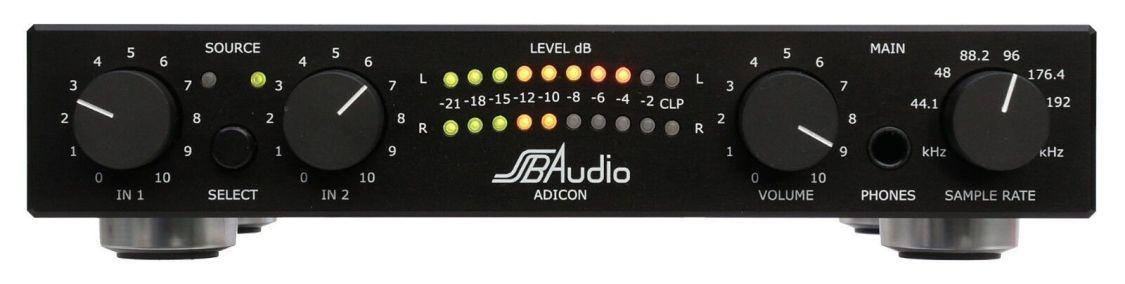 SSB AUDIO ADICON - HIGH END ANALOG/DIGITALWANDLER (24 Bit und bis zu 192 kHz)
