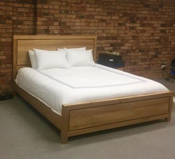 Bed Frame With King Size Sealy Mattress