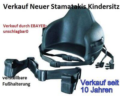 Stamatakis MAXI Kindersitz für Roller / Motorrad NEU + OVP