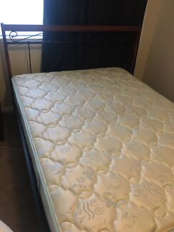Queen Sized Bed Frame And Double Mattress 60 00 Kingsford
