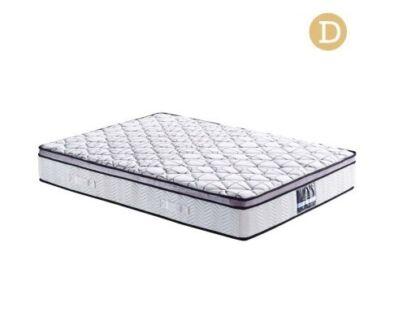 Comfort Cool Gel Memory Foam Euro Top Pocket Spring Mattress Dbl