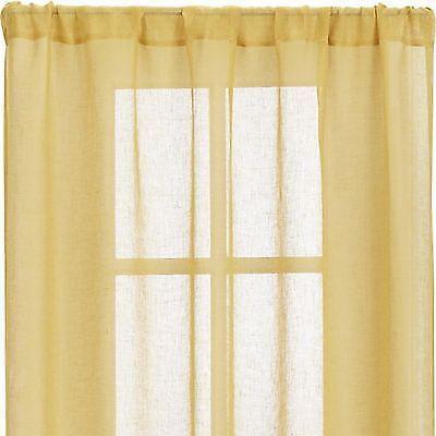 Sheer Yellow Curtains EBay