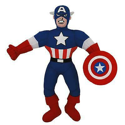 Captain America Plush EBay