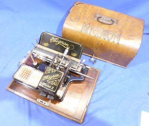 Mignon 2 - wundervolle Original-Erh. - Schreibmaschine typewriter - 0155