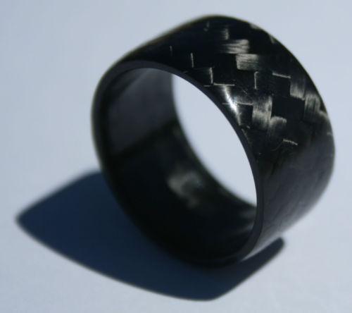 Solid Carbon Fiber Ring EBay