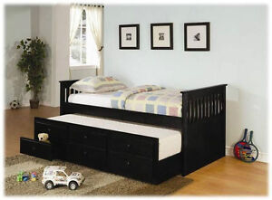 Free Delivery In Edmonton Daybed With Storage Trundle