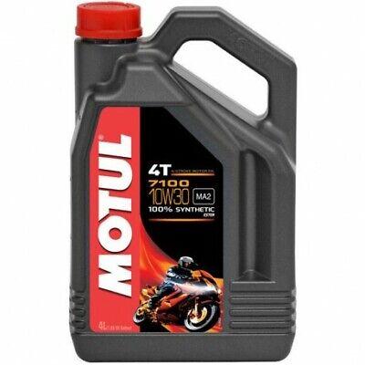 Aceite Motul 7100 10w30 4 litros para moto 100%sintetico