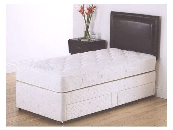 Price And Good Quality Brand New Single Divan Bed With