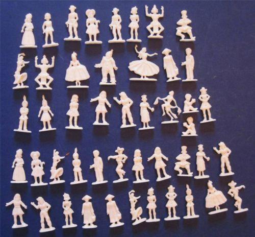 Miniature Plastic Figures EBay