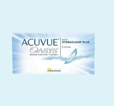Acuvue Oasys 1 x 6 Kontaktlinsen, 2-Wochenlinsen
