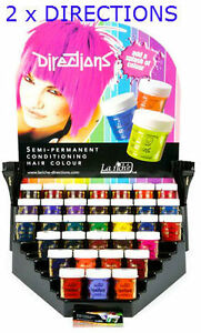 2 x pots la riche directions semi permanent hair color dye choose two same color ebay