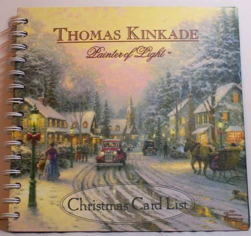 Thomas Kinkade Christmas Cards EBay