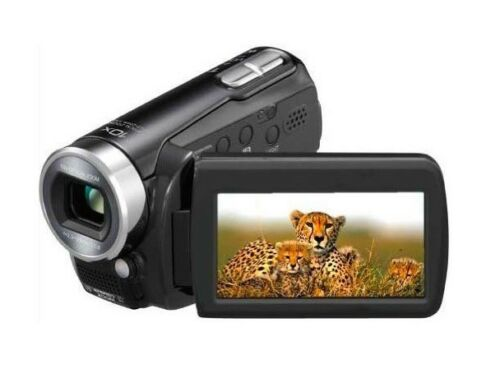 Panasonic SDR-S15 Flash Memory Camcorder With SD Card Slot (black) BRAND NEW