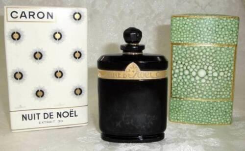 Rare Vintage 1oz. Caron Nuit De Noel EXTRAIT 30 Sealed Perfume With Original Box