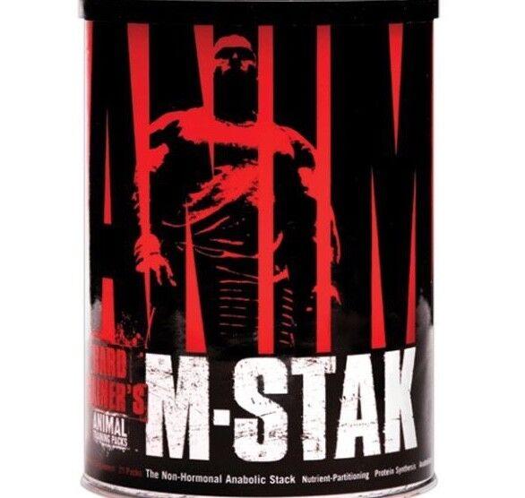 (141,86€/1kg) 295g Universal ANIMAL M-Stak Testosteron Testo Booster 21 Pack