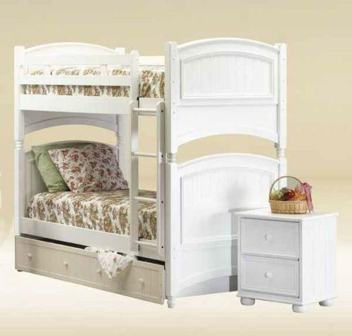 White Trundle Bed Ebay