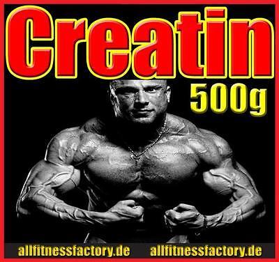 (19,98EUR/1kg) 500g Creatin Monohydrat 200 Mesh rein Kreatin Pulver VERSANDFREI